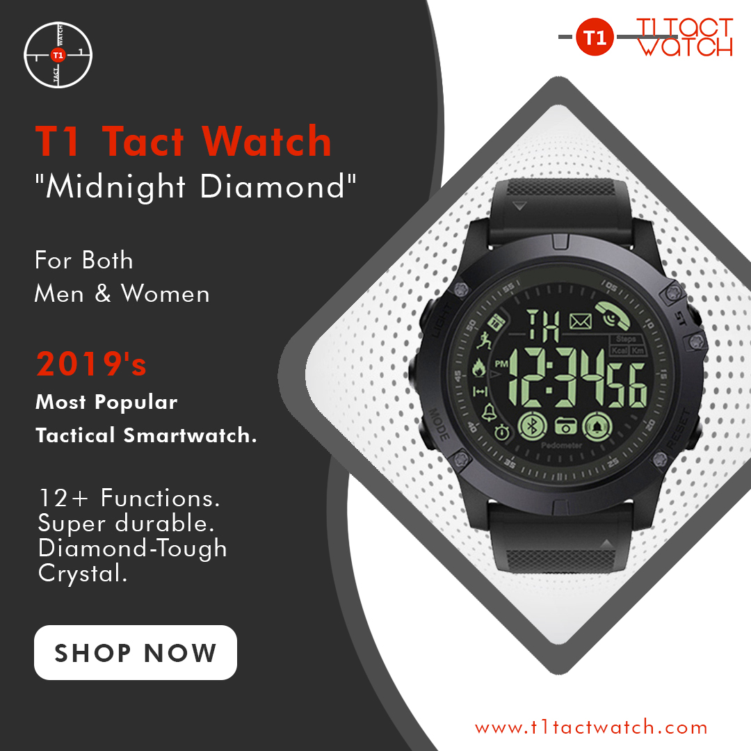 T1 Tact, Military Grade Tactical Smartwatch